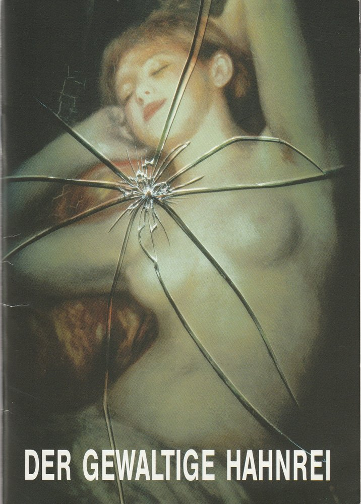Programmheft Berthold Goldschmidt DER GEWALTIGE HAHNREI Komische Oper 1994
