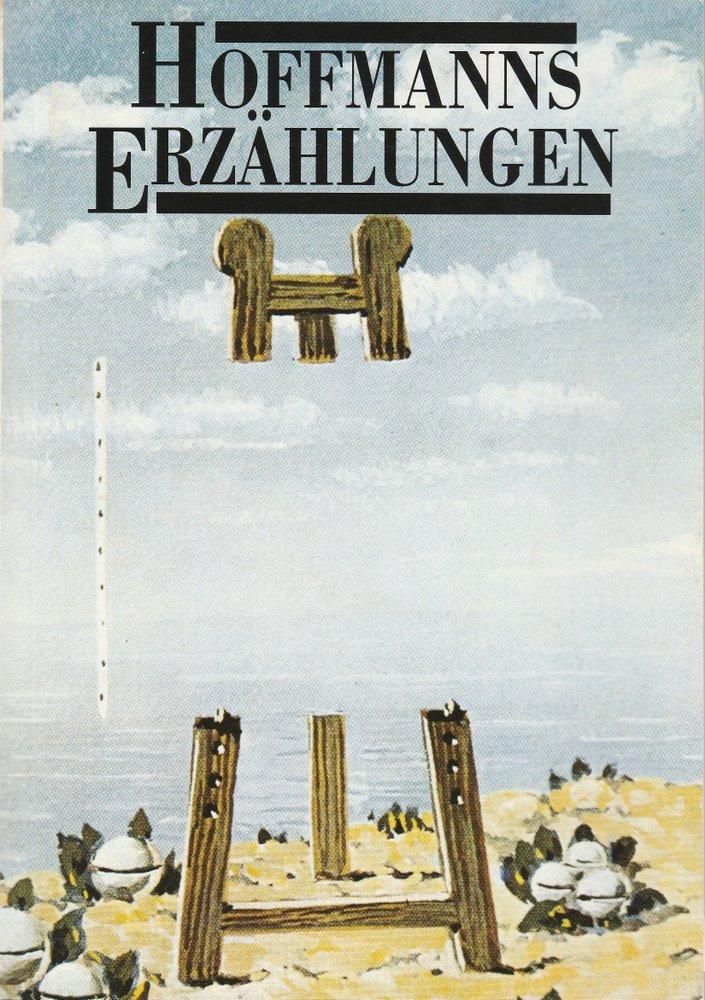 Programmheft Jacques Offenbach HOFFMANNS ERZÄHlUNGEN Komische Oper 1993