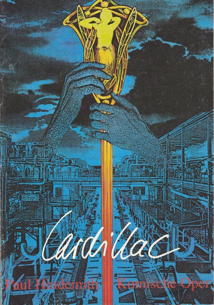 Programmheft Paul Hindemith CARDILLAC Komische Oper 1990