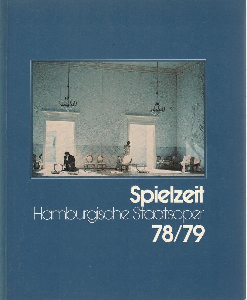 Spielzeit 1978 / 79 jahrbuch der Hamburgischen Staatsoper