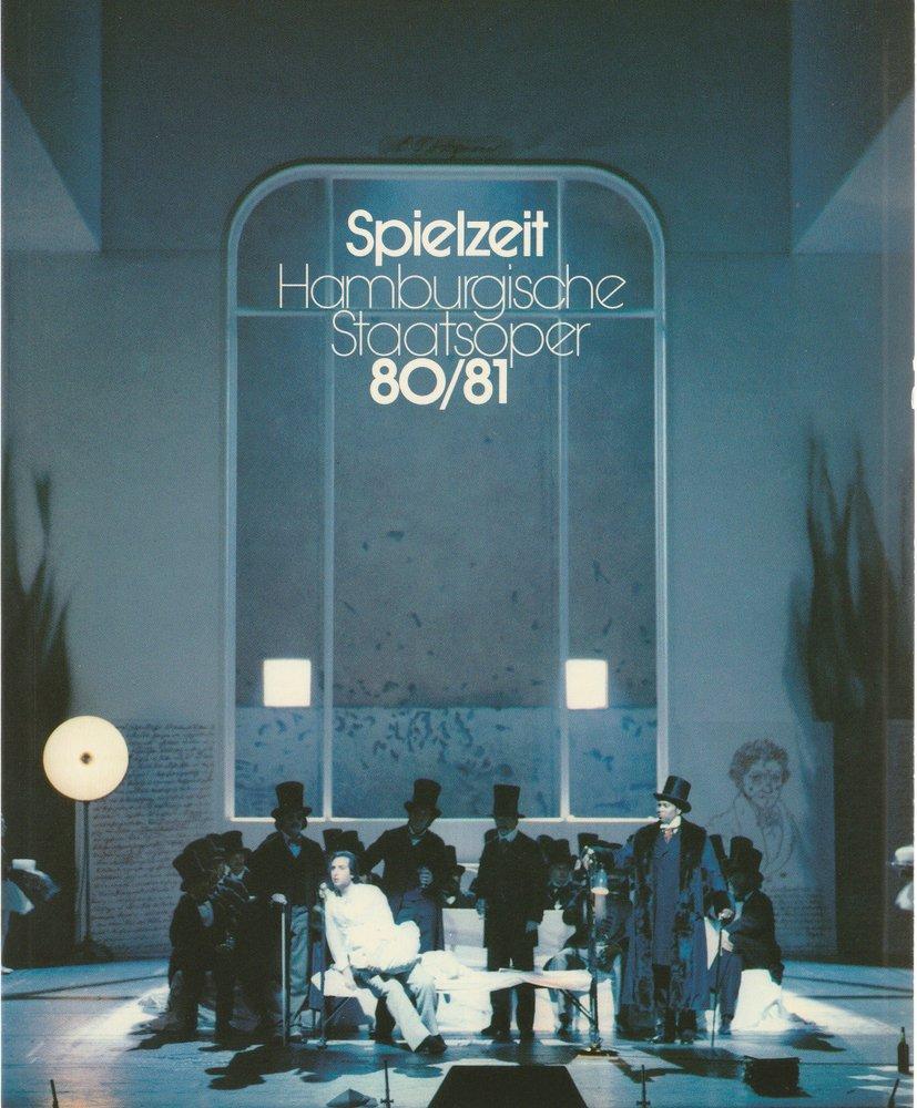 Spielzeit 1980 / 81 jahrbuch VII der Hamburgischen Staatsoper