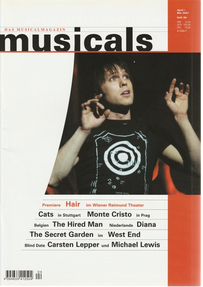 musicals Das Musicalmagazin April / Mai 2001 Heft 88