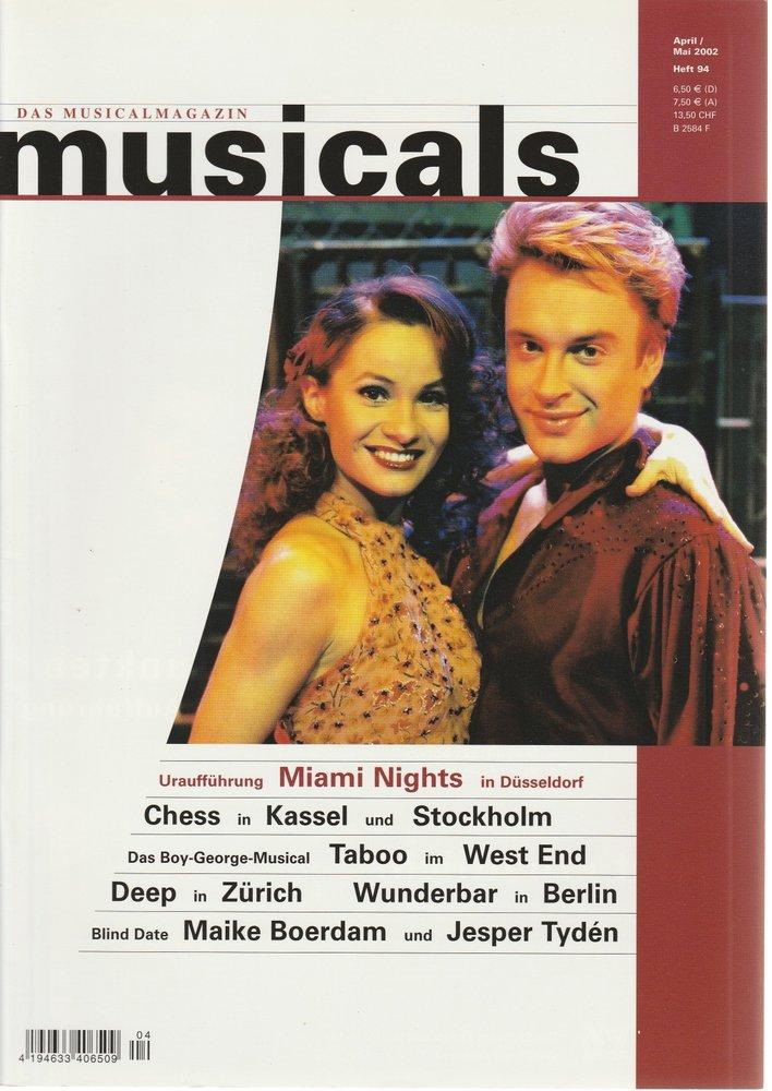 musicals Das Musicalmagazin April / Mai 2002 Heft 94