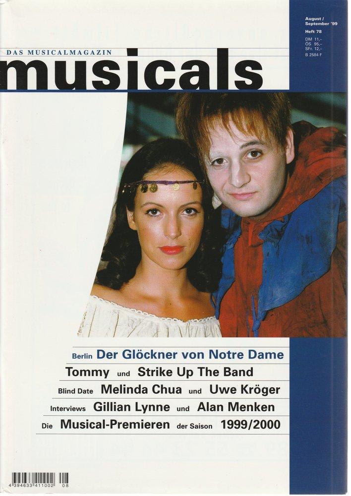 musicals Das Musicalmagazin August / September 1999 Heft 78
