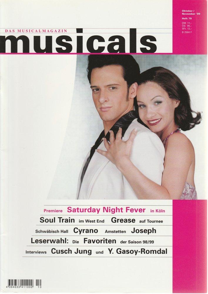 musicals Das Musicalmagazin Oktober / November 1999 Heft 79