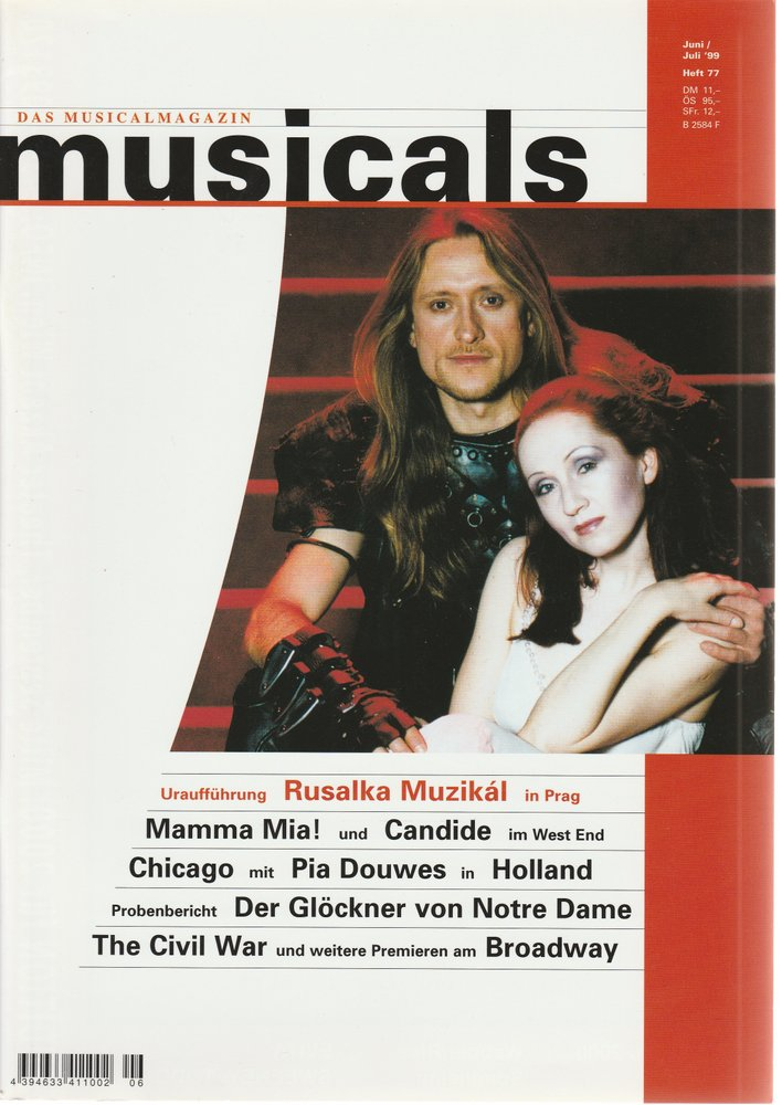 musicals Das Musicalmagazin Juni / Juli 1999 Heft 77