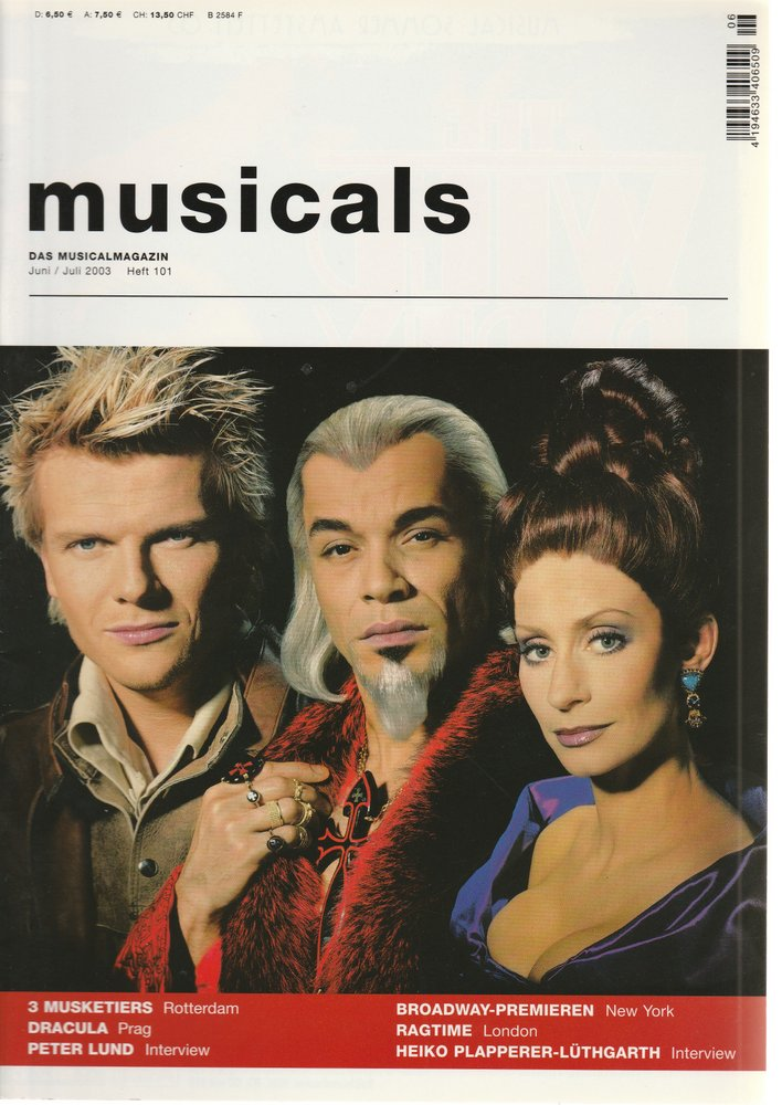 musicals Das Musicalmagazin Juni / Juli 2003 Heft 101