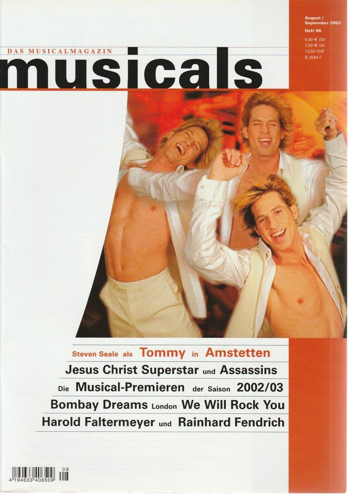 musicals Das Musicalmagazin August / September 2002 Heft 96