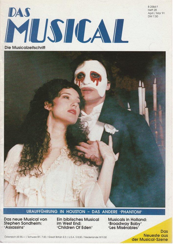 Das Musical. Die Musicalzeitschrift Heft 28 April / Mai 1991