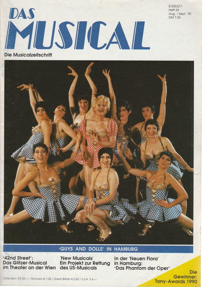 Das Musical. Die Musicalzeitschrift Heft 24 August / September 1990