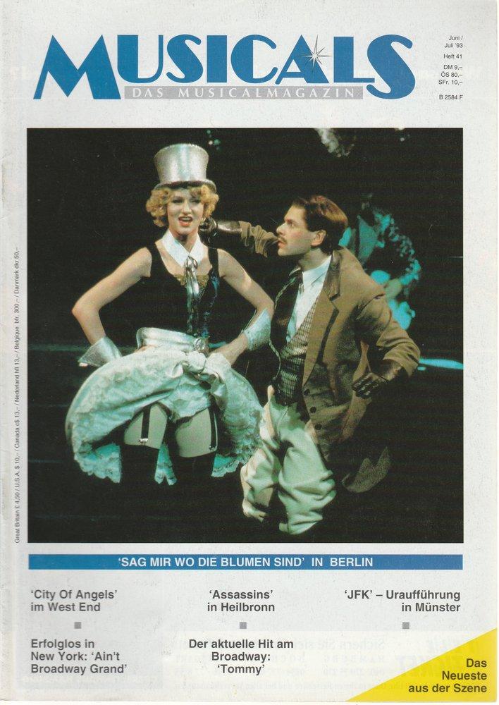 MUSICALS Das Musicalmagazin Heft 41 Juni / Juli 1993