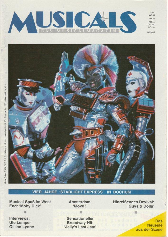 MUSICALS Das Musicalmagazin Heft 35 Juni / Juli 1992