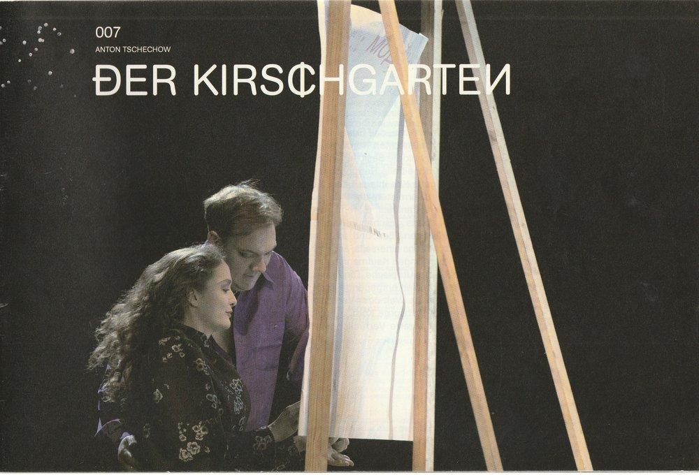 Programmheft Anton Tschechow DER KIRSCHGARTEN Schauspiel Köln 2011