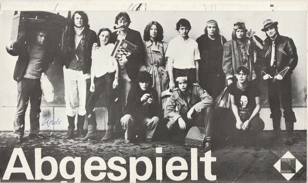 Programmheft Yvonne Keuls ABGESPIELT Basler Theater 1980
