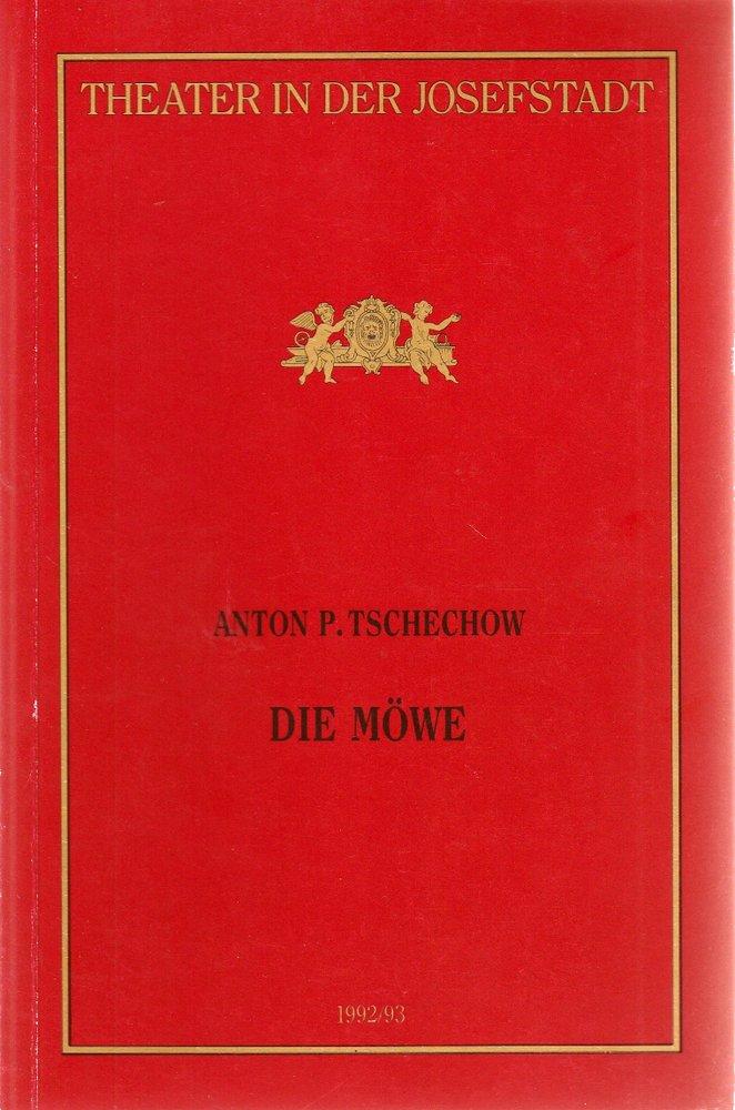 Programmheft Anton P. Tschechow DIE MÖWE Theater in der Josefstadt 1993