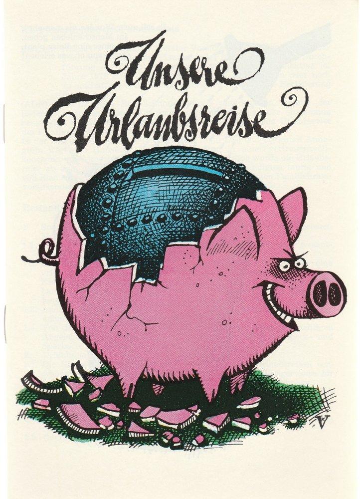 Programmheft EINSTEIGEN BITTE Distel Das Berliner Kabarett 1978