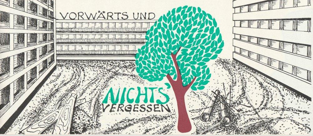 Programmheft Vorwärts und nichts vergessen Leipziger Pfeffermühle 1973