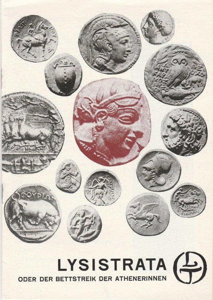 Programmheft LYSISTRATA von Aristophanes Leipziger Theater 1970