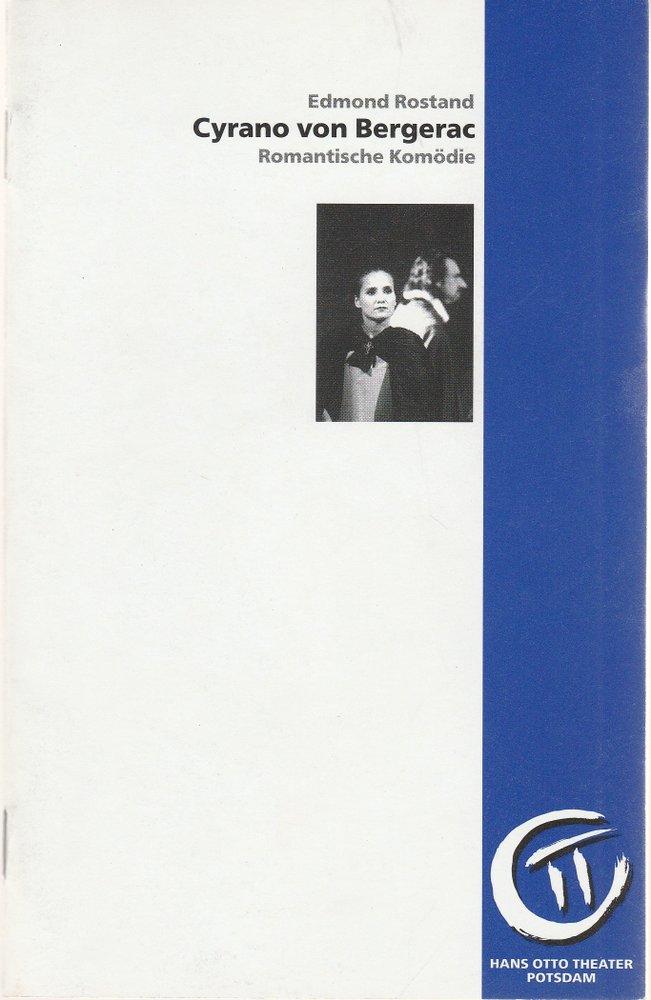 Programmheft Rostand: CYRANO VON BERGERAC Hans Otto Theater Potsdam 1997