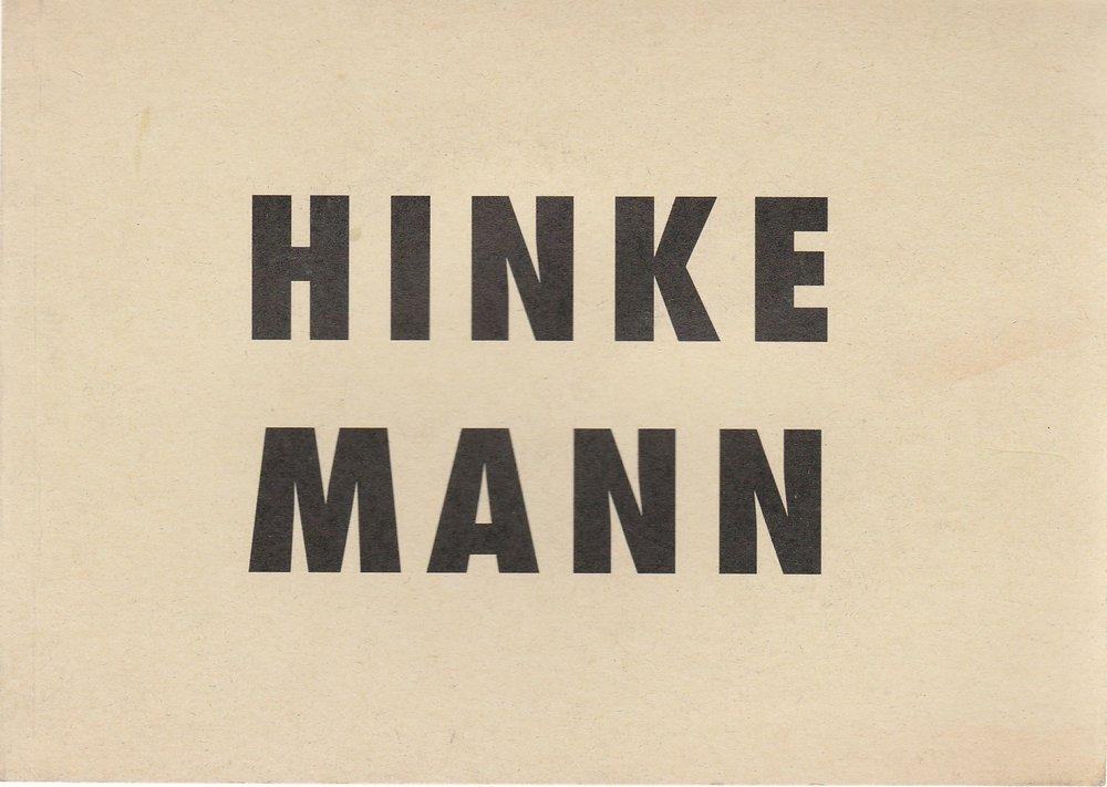 Programmheft Ernst Toller HINKEMANN Volksbühne am Rosa-Luxemburg-Platz 1994