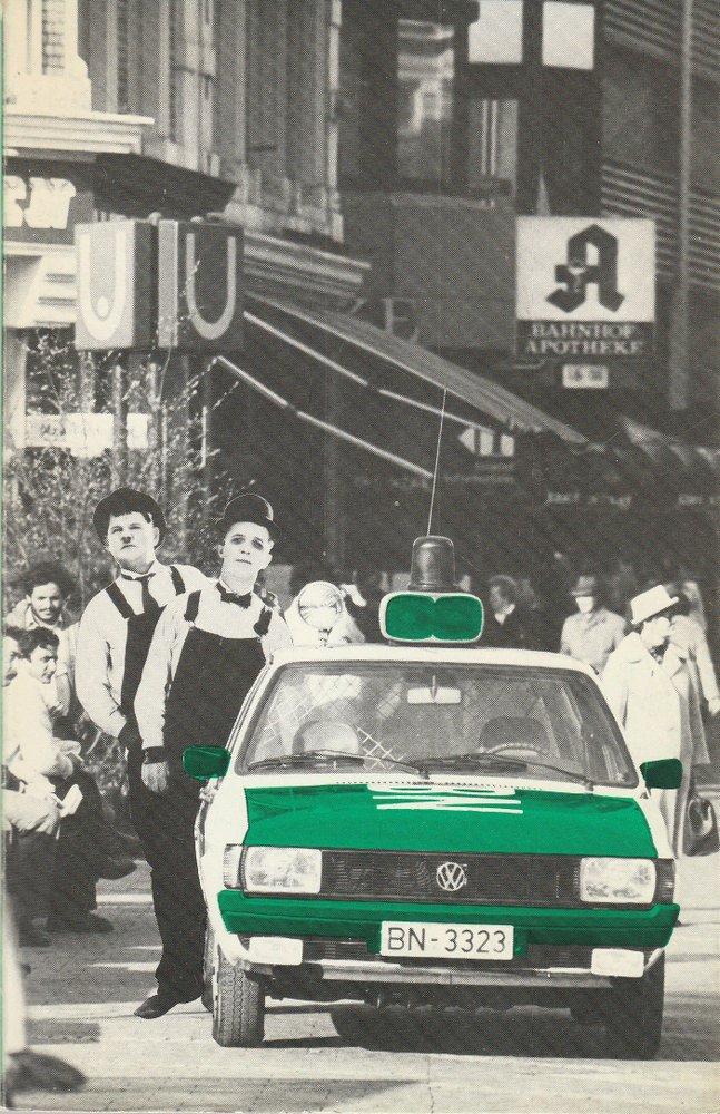 Programmheft Stan und Ollie in Deutschland von Urs Widmer Theater Bonn 1981
