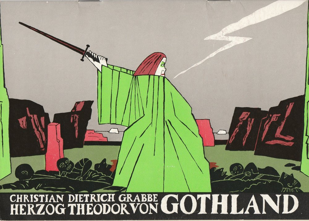 Programmheft Grabbe: HERZOG THEODOR VON GOTHLAND Deutsches Theater 1984