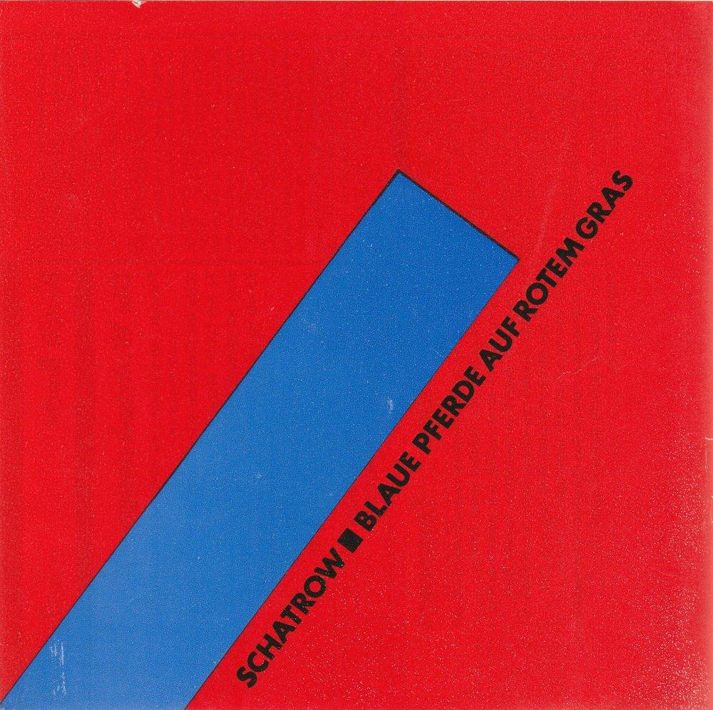 Programmheft Michail Schatrow BLAUE PFERDE AUF ROTEM GRAS Dresden 1984