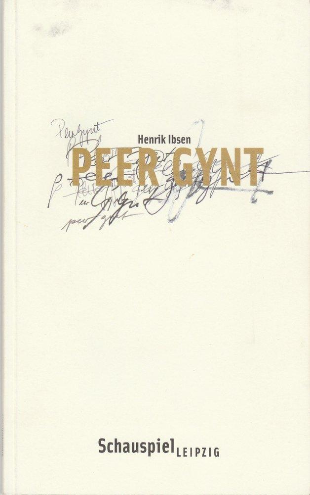 Programmheft Henrik Ibsen PEER GYNT Schauspiel Leipzig 2005