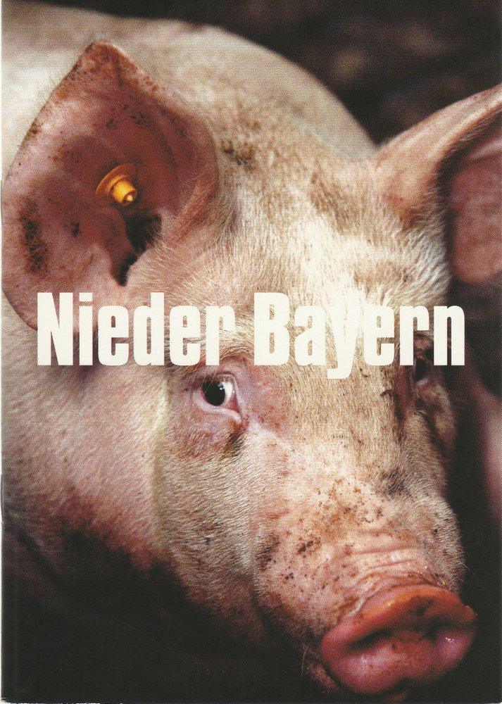 Programmheft NIEDER BAYERN Münchner Volkstheater 2003