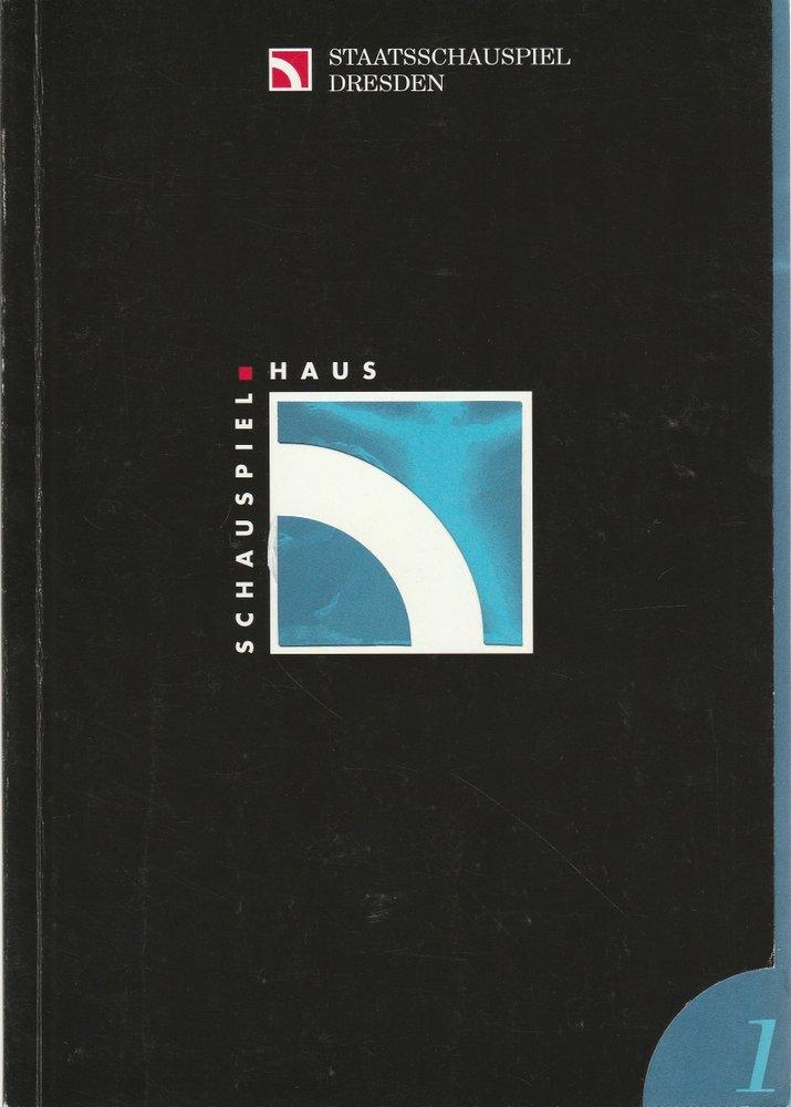 Programmheft Henrik Ibsen PEER GYNT Staatsschauspiel Dresden 1995