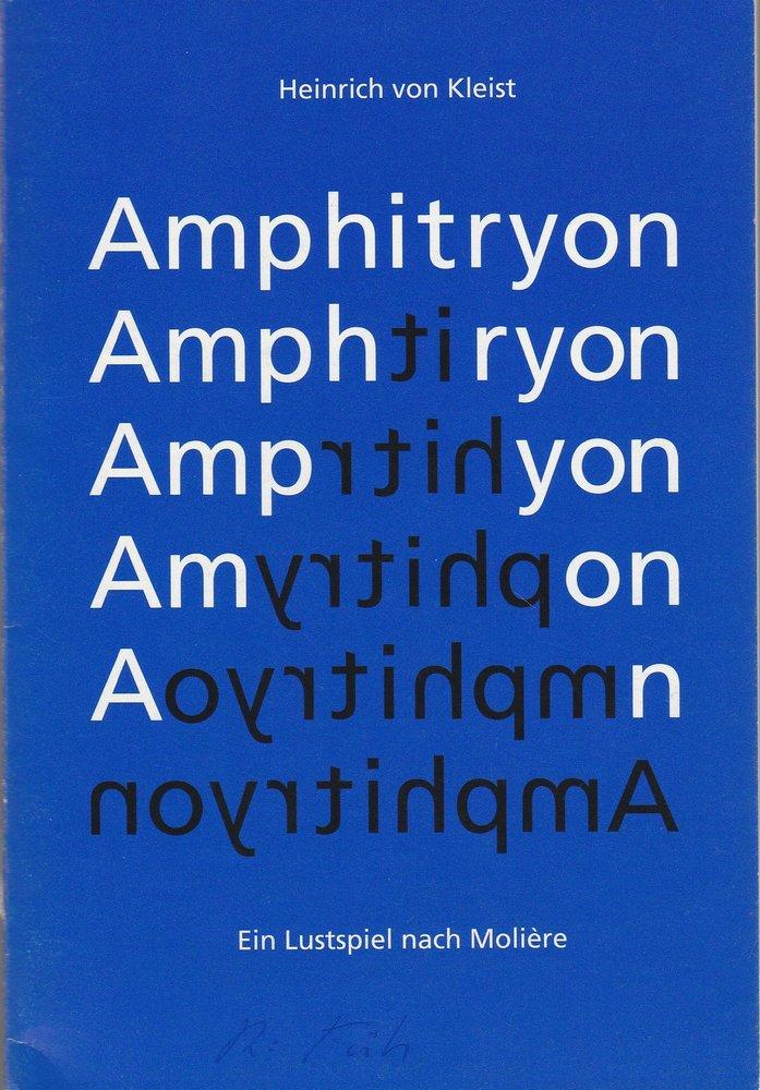 Programmheft Heinrich von Kleist AMPHITRYON Theater Freiburg 1994