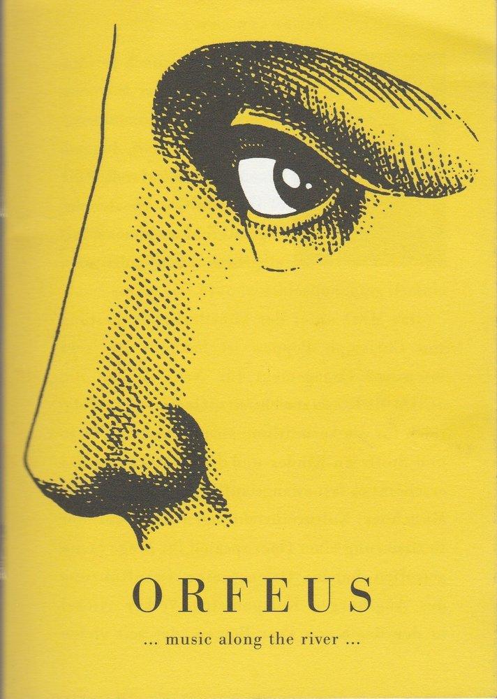Programmheft Volker Nickel ORFEUS Schauburg 2005