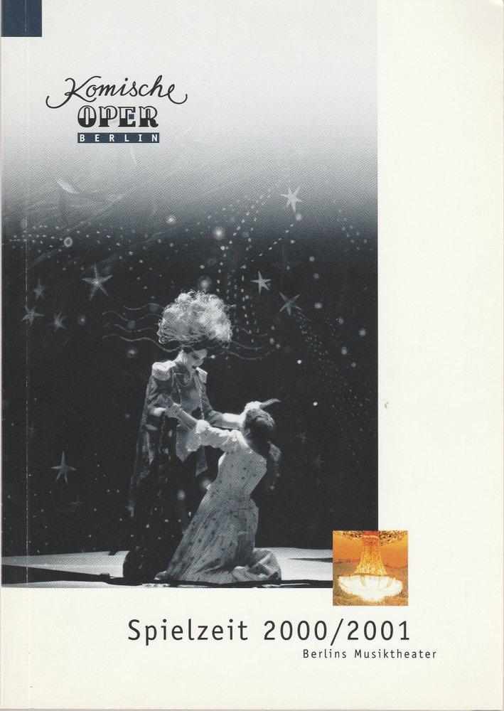 Programmheft KOMISCHE OPER BERLIN Berlins Musiktheater 2000 / 2001 Spielzeitheft