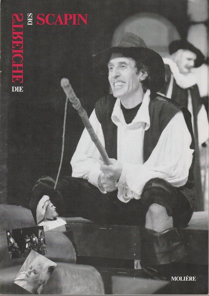 Programmheft Moliere DIE STREICHE DES SCAPIN Konzertdirektion Landgraf 1995