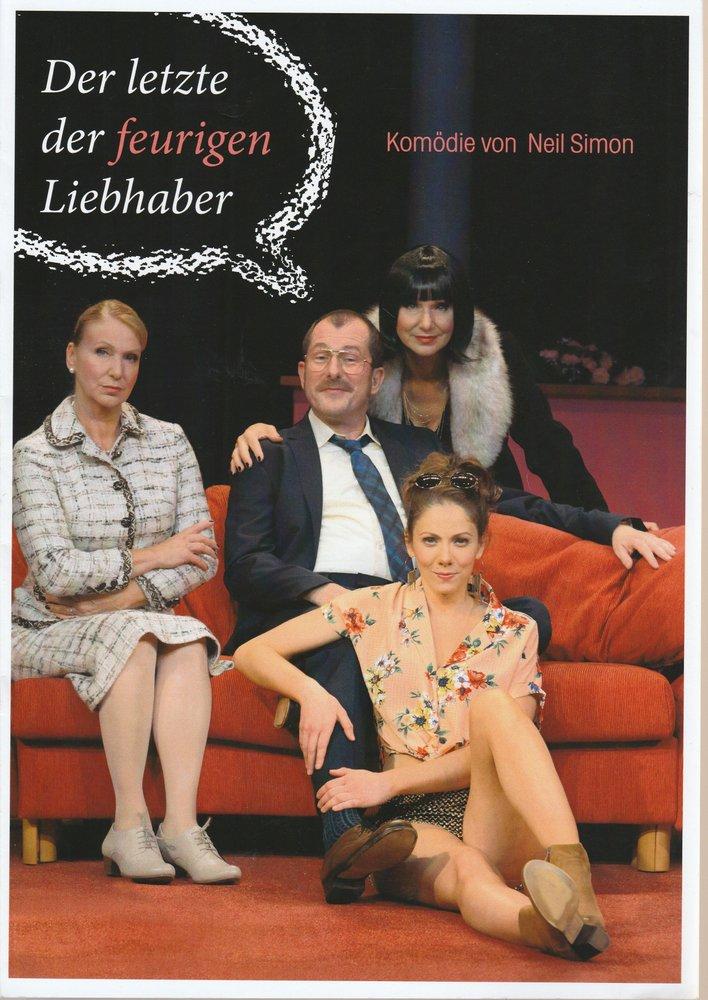 Programmheft DER LETZTE DER FEURIGEN LIEBHABER Konzertdirektion Landgraf 2015