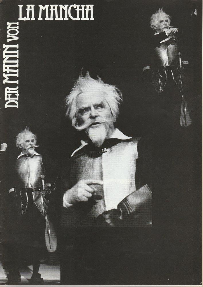 Programmheft DER MANN VON LA MANCHA Konzertdirektion Landgraf 1993