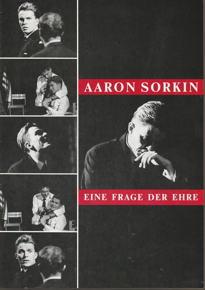 Programmheft Aaron Sorkin EINE FRAGE DER EHRE Konzertdirektion Landgraf 1994