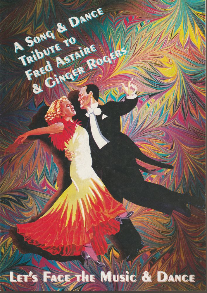 Programmheft A Song & Dance Tribute to Fred Astaire & Ginger Rogers 1994