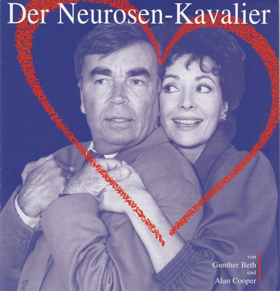 Programmheft DER NEUROSEN-KAVALIER Tournee Theater Thespiskarren 2003