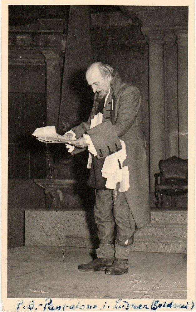 Postkarte PAUL BILDT an Prof. Helmut Gollwitzer 1952 Autograph