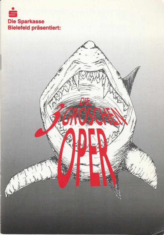 Programmheft Bertolt Brecht / Kurt Weill DIE DREIGROSCHENOPER Bielefeld 1998