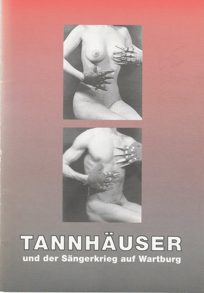 Programmheft Richard Wagner TANNHÄUSER Stadttheater Bielefeld 1998
