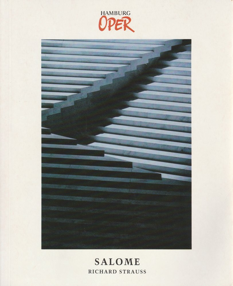 Programmheft SALOME von Richard Strauss Hamburgische Staatsoper 1995