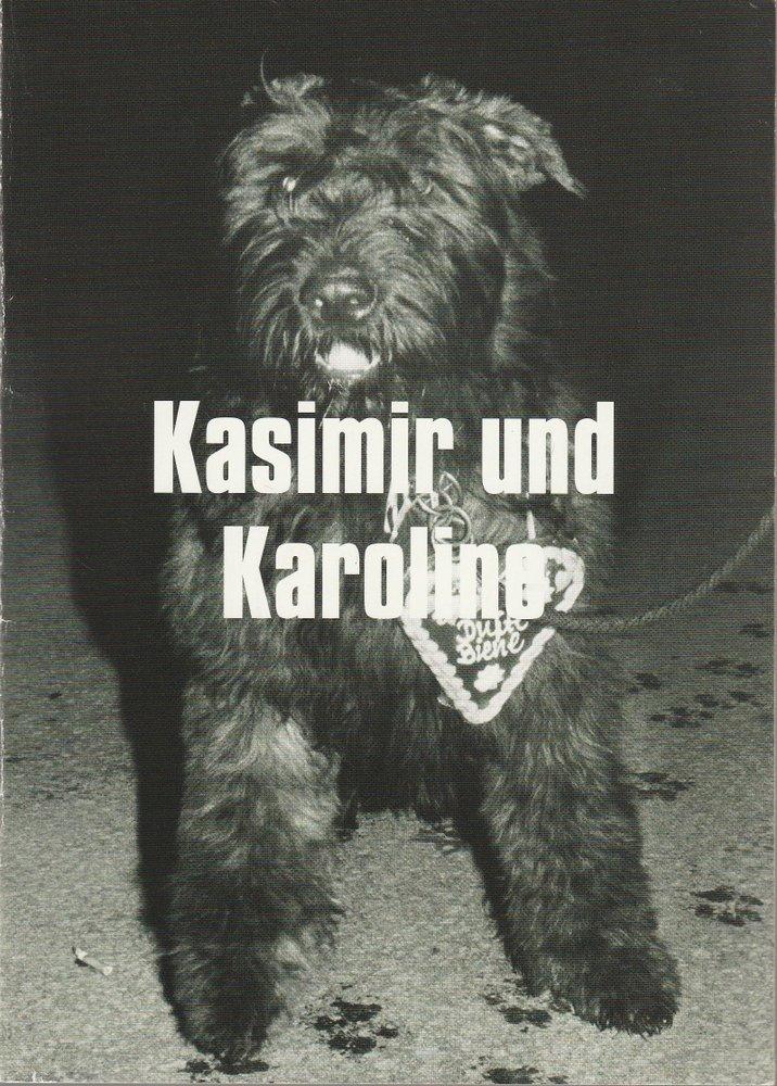 Programmheft Ödön von Horvath Kasimir und Karoline Münchner Volkstheater 2004
