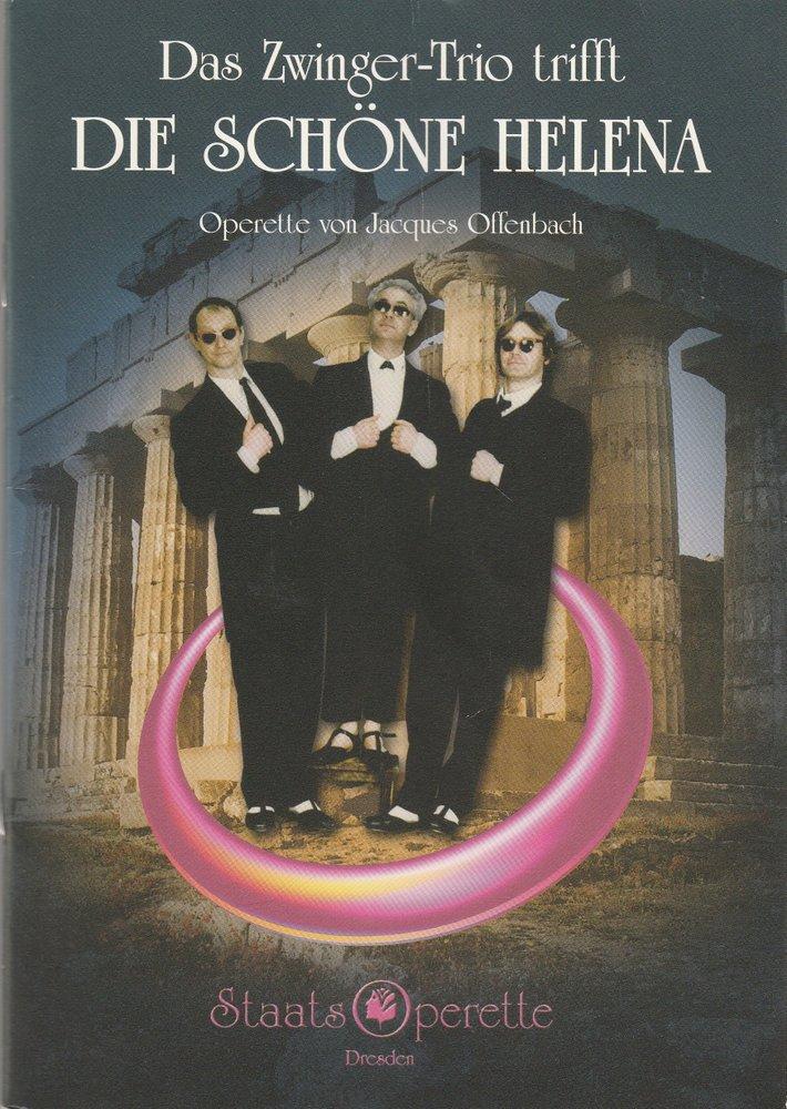 Programmheft DAS ZWINGER-TRIO TRIFFT DIE SCHÖNE HELENA Staatsoperette 2005
