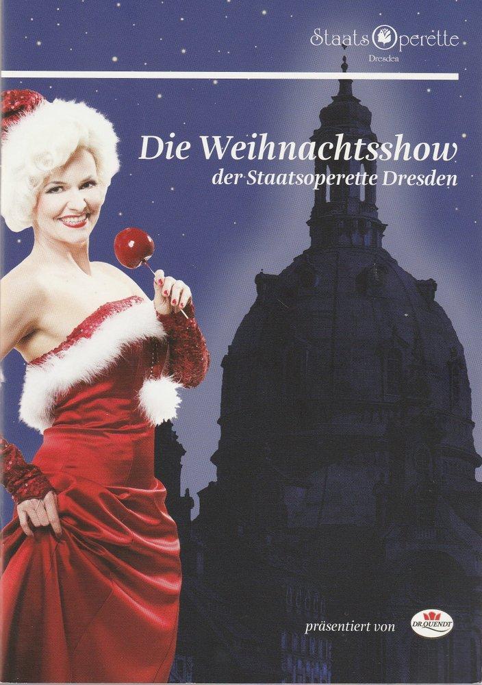 Programmheft NANU ? Die Weihnachtsshow der Staatsoperette Dresden 2010