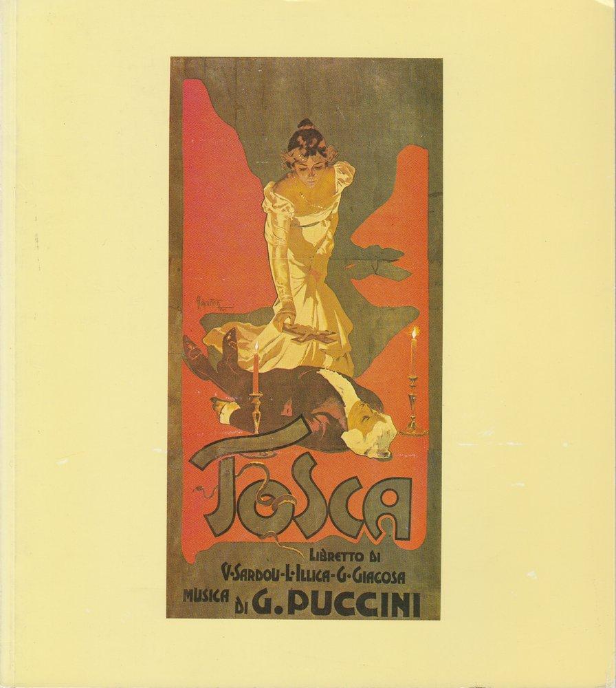 Programmheft Giacomo Puccini TOSCA Bayerische Staatsoper 1982