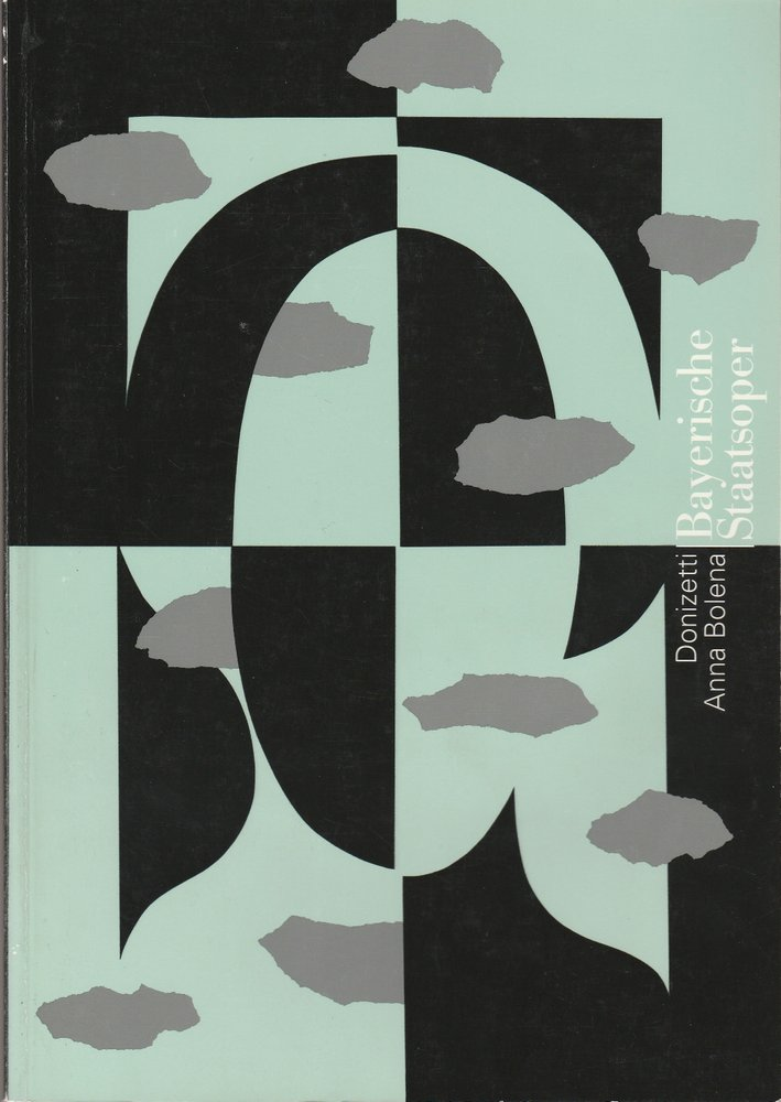 Programmheft Gaetano Donizetti ANNA BOLENA Bayerische Staatsoper 1995