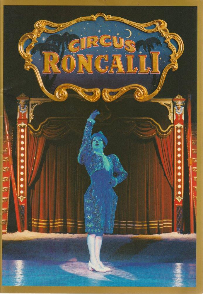Programmheft DIE REISE ZUM REGENBOGEN Circus Roncalli 2001