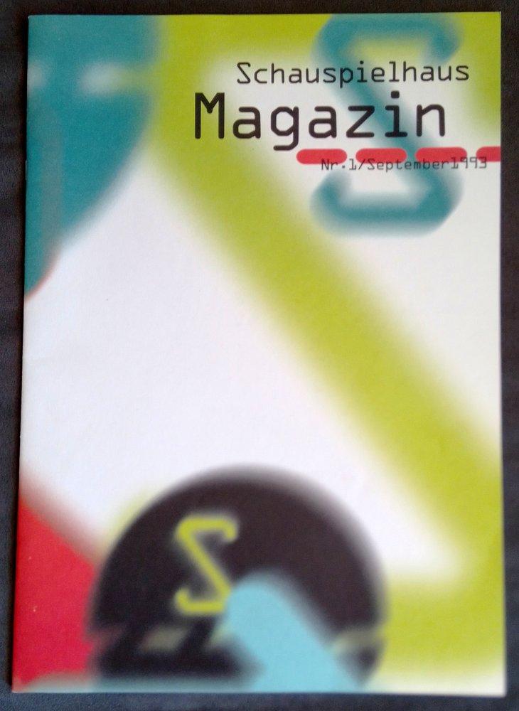 Deutsches Schauspielhaus Magazin Nr. 1 September 1993